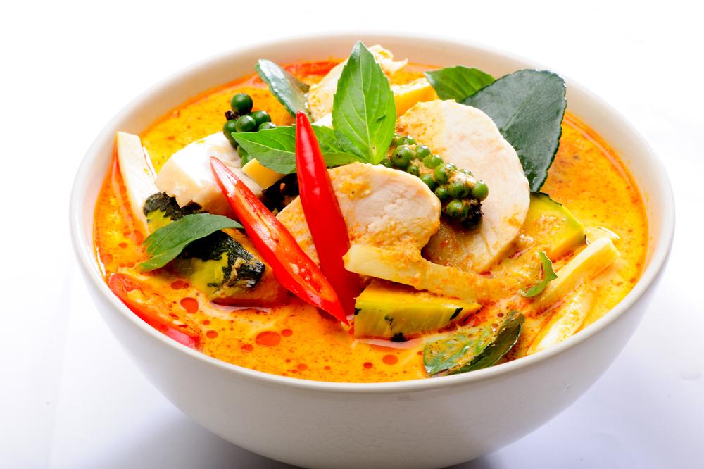 Kokosmilch-Gemüsecurry