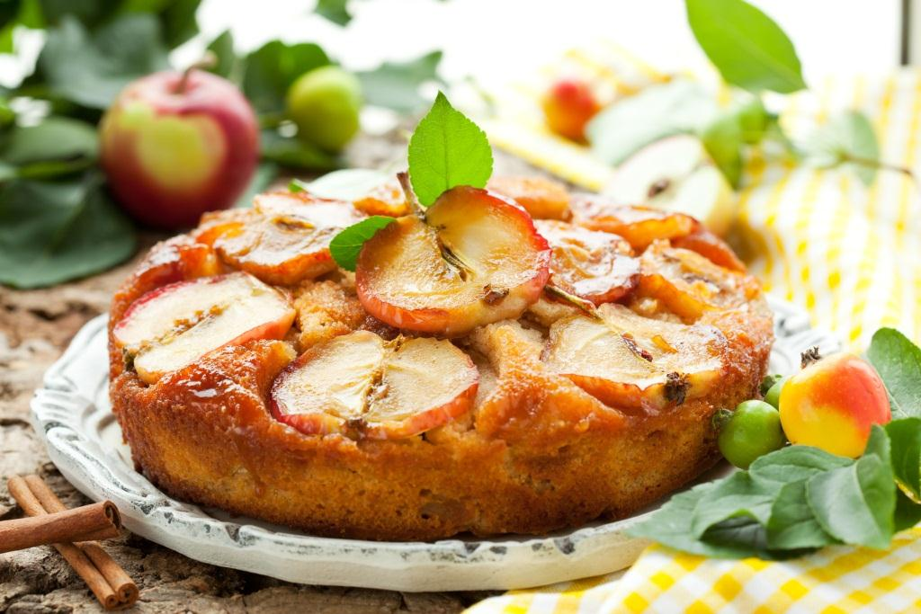 Apfelkuchen vegan